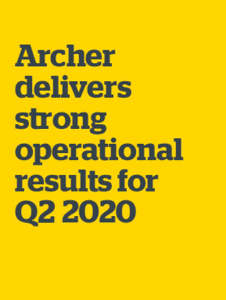Archer Limited: Second Quarter and Half Year 2020 Results