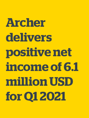 Archer Limited: First Quarter 2021 Results